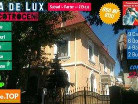 Casa de vânzare 9 camere, în Bucureşti, zona Cotroceni