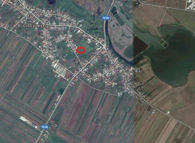 Loc de casa in Ciocăneşti, prin Tărtăşeşti sau Buftea - imaginea 1