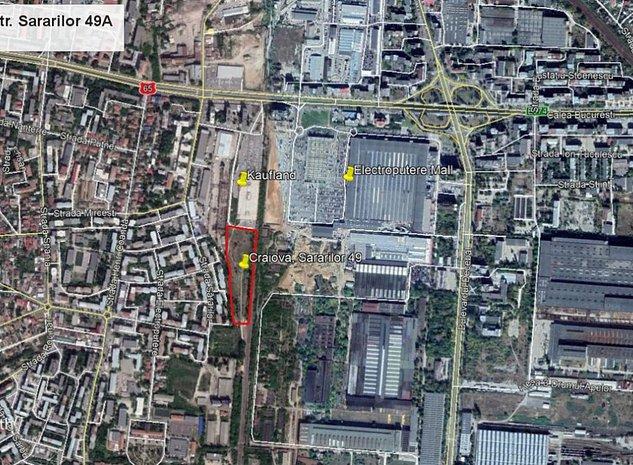 Vanzare teren 18.152 mp, adiacent Electroputere Mall Craiova - imaginea 1
