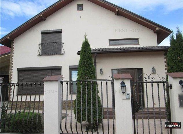 Vila finisata in stil occidental ,P+1 zona vile Petresti ! - imaginea 1
