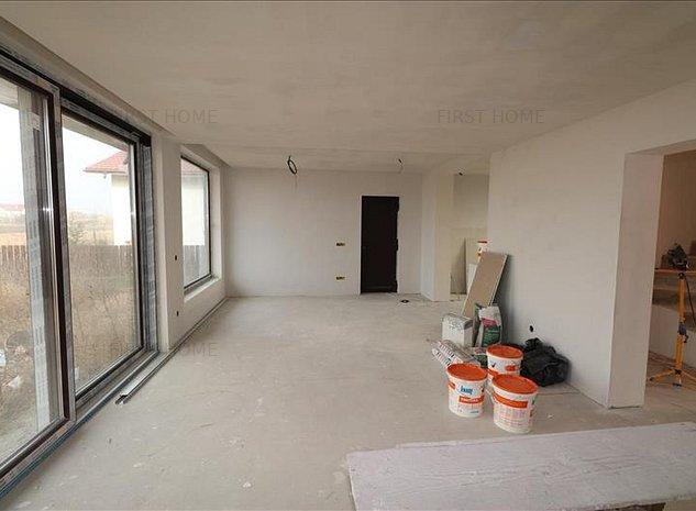 Casa P+M in Golesti in stadiu de finisaje interiore - imaginea 1