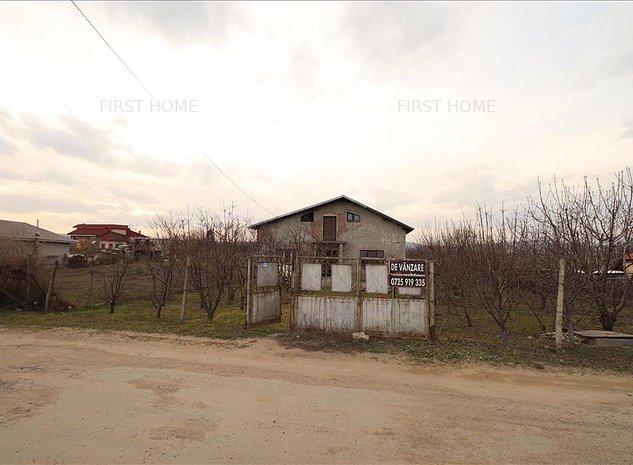 Casa P + 1 de vanzare in Valea Cotesti si livada - imaginea 1