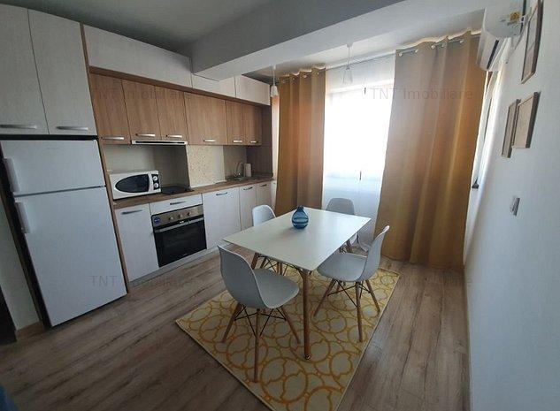Apartament 1 camera de inchiriat bloc nou zona Tatarasi - imaginea 1