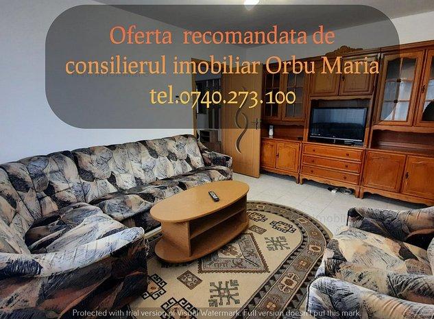 Apartament 3 camere semidecomandat de inchiriat zona Podu Ros-Bulevard - imaginea 1