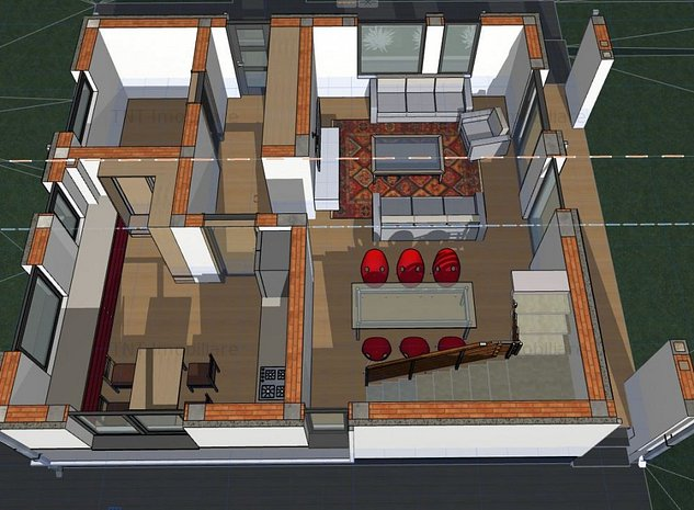 Vanzare casa noua 4 camere zona Bucium-Visan - imaginea 1