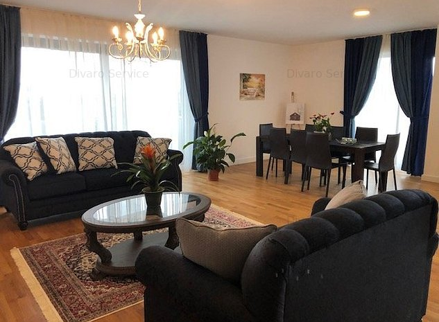Vanzare/inchiriere apartament 3 camere cu terasa generoasa si garaj Primaverii - imaginea 1