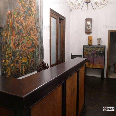 Inchiere spatiu de birouri in vila Cotroceni metrou renovat lux si mobilat - imaginea 1