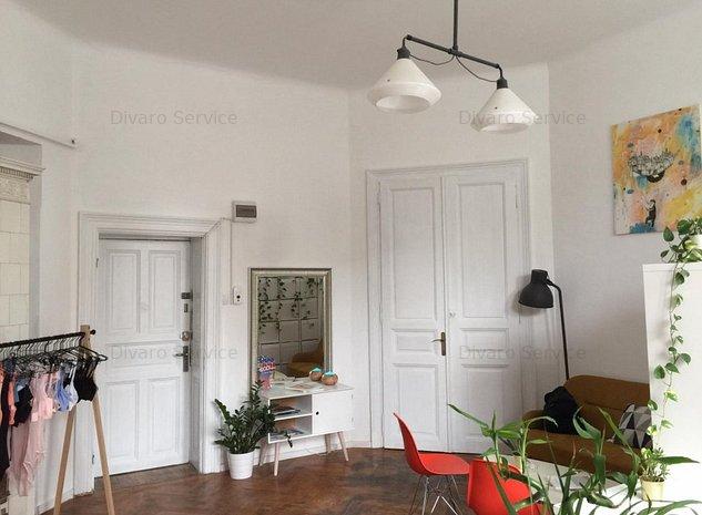 Apartament 2 camere Calea Victoriei imobil deosebit renovat ideal investitie - imaginea 1