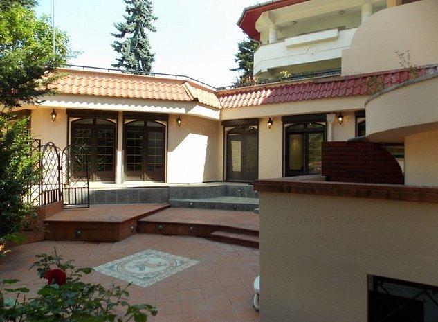 Inchiriere vila complet renovata pozitie de exceptie langa Palatul Cotroceni - imaginea 1