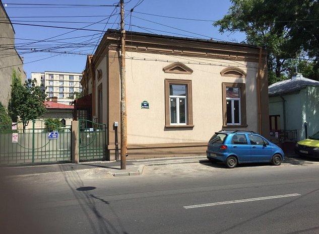 Vanzare casa 4 camere ideala spatiu de birouri 130mp Plevnei Spitalul Militar - imaginea 1