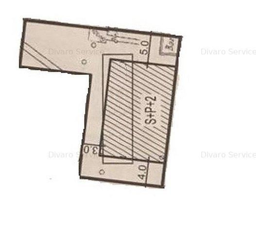Vanzare teren liber Floreasca pentru constructie P+2 - imaginea 1