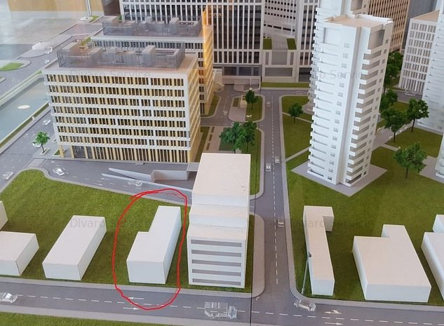 Vanzare teren 426mp cu doua corpuri metrou Timpuri Noi ideal imobil apartamente - imaginea 1