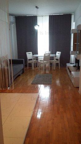 Apartament generos mobilat utilat,3 camere cu centrala proprie. - imaginea 1