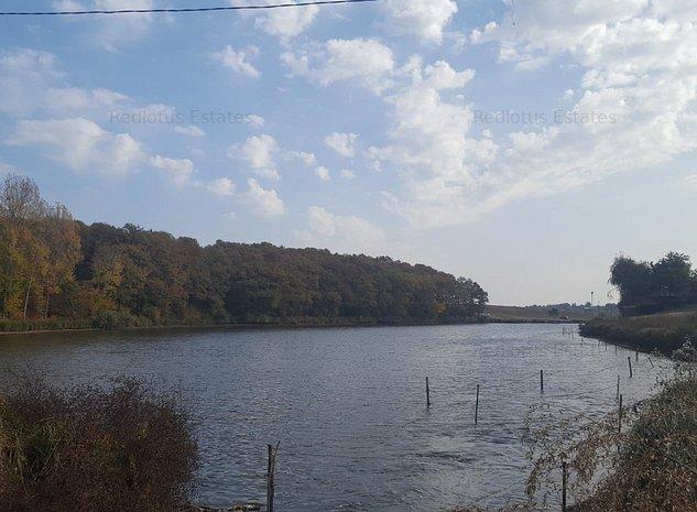 Terenul pe care il cautai - langa lac si padure! (Moara Vlasiei) - imaginea 1