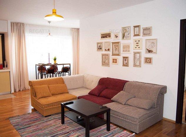 Apartament de inchiriat 2 camere - Pipera- mobilat - utilat - imaginea 1