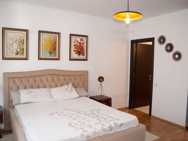 Apartament de inchiriat 3 camere - Pipera- mobilat - utilat - imaginea 2