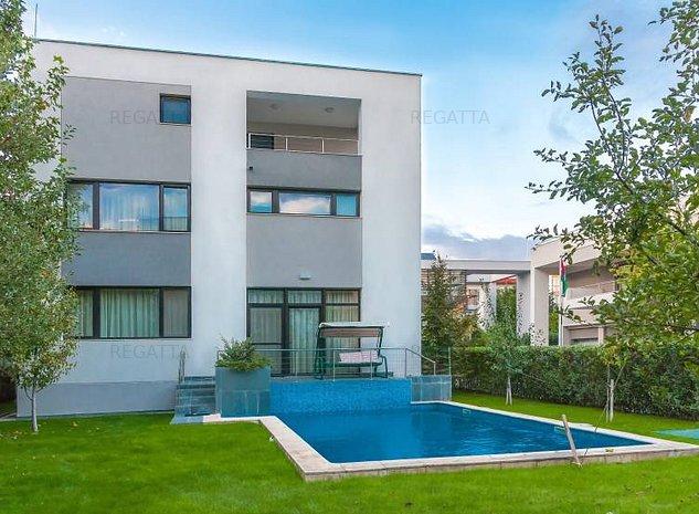 Villa for rent Herastrau Nordului - imaginea 1