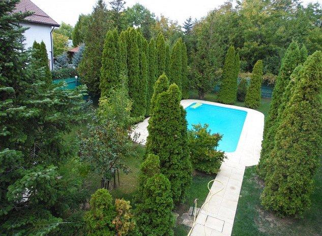 Vila de vanzare 7 camere zona Snagov, judetul Ilfov 330 mp - imaginea 1