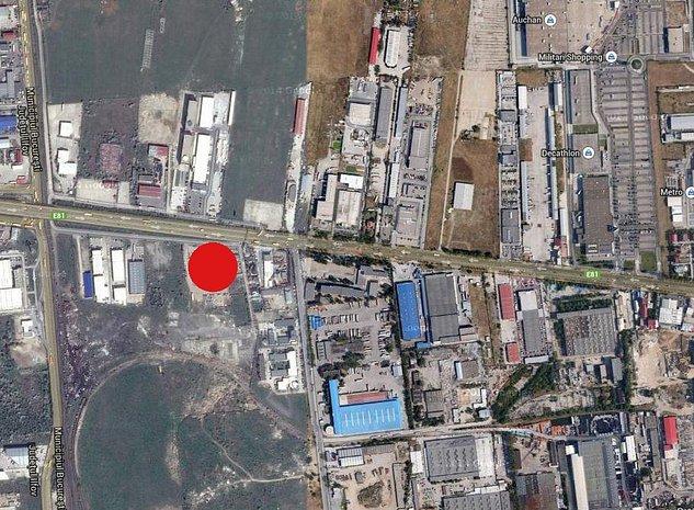 Teren de vanzare Bucuresti zona Iuliu Maniu - imaginea 1