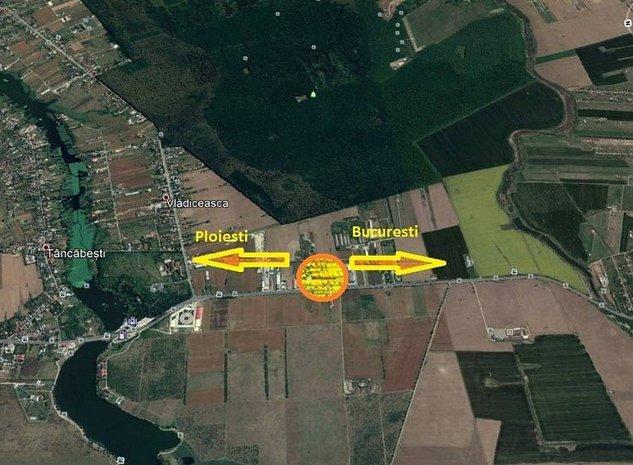 Teren intravilan de vanzare zona Tancabesti, judetul Ilfov 16.000 mp - imaginea 1