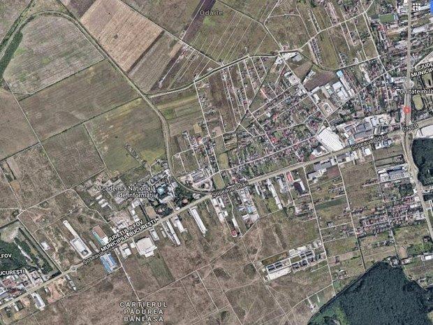 Teren de vanzare cu autorizatie de construire zona Otopeni-Soseaua de centura  - imaginea 2