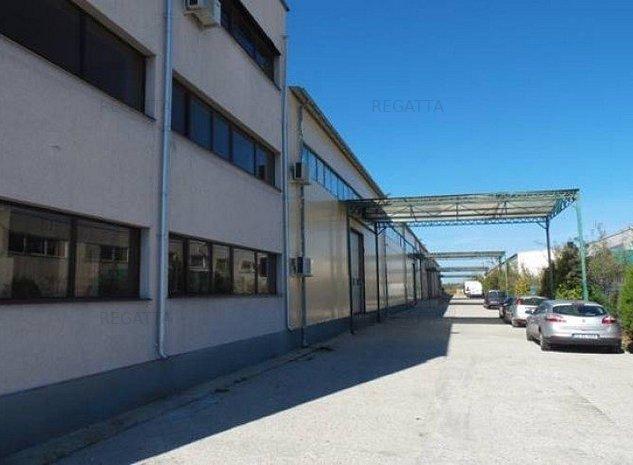 Proprietate industriala de vanzare zona Otopeni, Bucuresti - imaginea 1