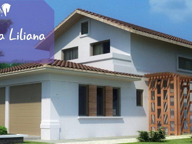 Vila individuala la rosu - Complex rezidential Paladin Residence, Corbeana - imaginea 1