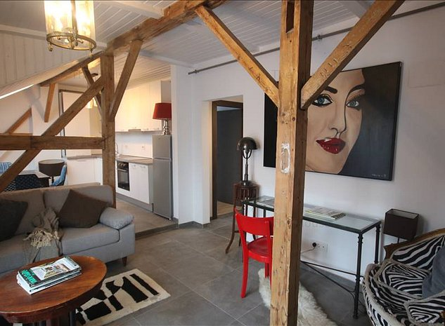 Inchiriere apartament in cladirea ReHabitat 56,povestea  ATTICO ZEBRA - imaginea 1