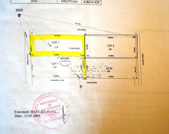 Terenuri de vanzare in Iasi, zona Hlincea - imaginea 1
