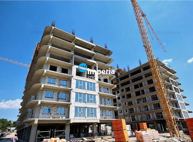 Apartament 2 camere 45.5 mp,bloc nou,45.500 euro - imaginea 1