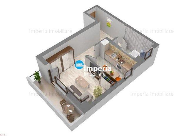 Apartament 1 cam de vanzare,48 mp,Galata - imaginea 1
