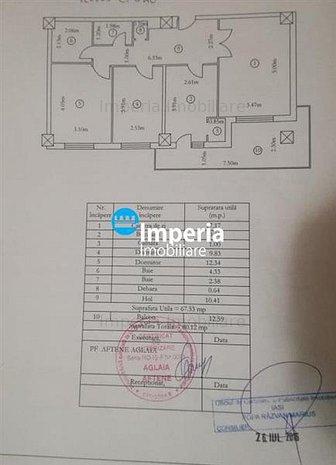 Apartament 3 camere Ultracentral - Palas - imaginea 1