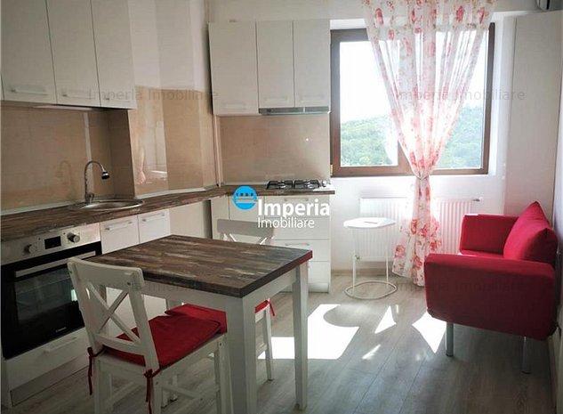 Apartament 1 camera, complet amenajat, Bloc Nou, zona Nicolina - Rond Vechi - imaginea 1