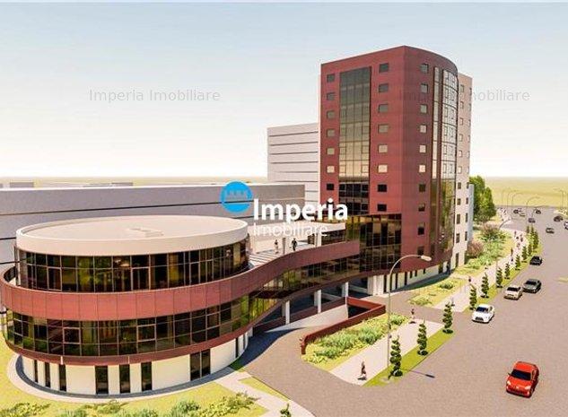 Apartament 2 sau 3 camere, Bloc Nou - Central Palas Campus - imaginea 1