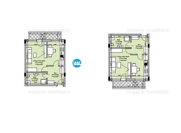 Apartament de vanzare 1 camera decomandat - Valea Adanca - imaginea 1