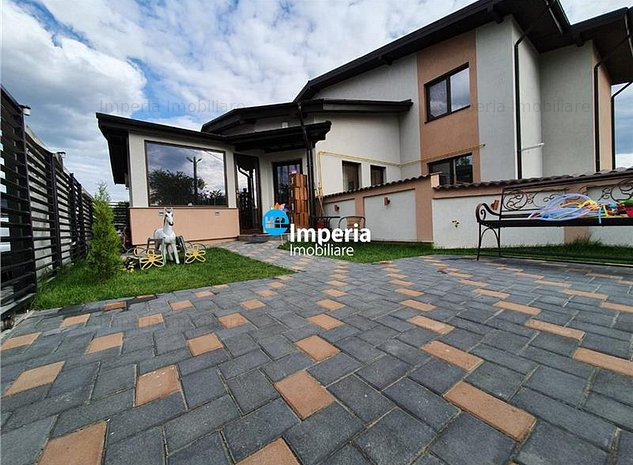 Vila tip duplex, mobilata si utilata, 130 mp Valea Adanca - imaginea 1