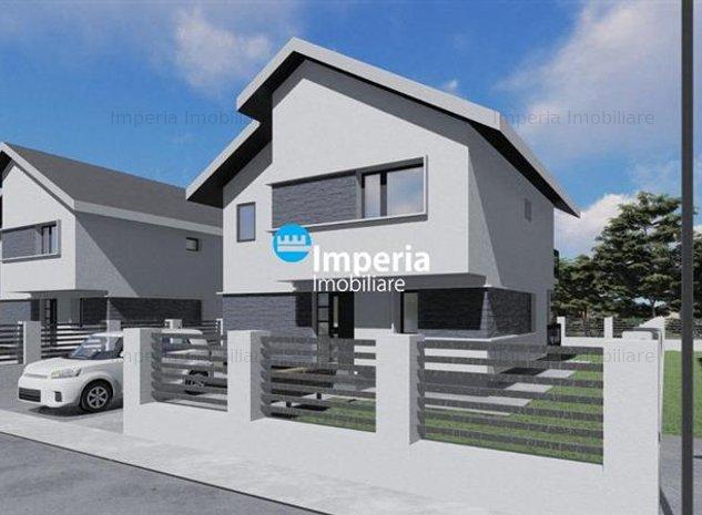 Casa individuala, parter plus etaj de vanzare Breazu Iasi - imaginea 1