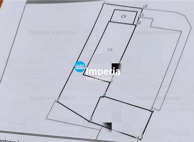 De vanzare, Corp Casa, 3 camere, Semicentral, - imaginea 1