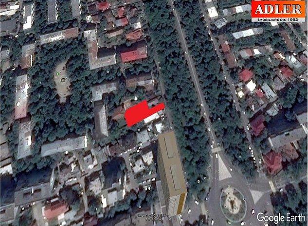 Teren 547 mp, cu casa demolabila, zona Bulevardul Independentei - imaginea 1