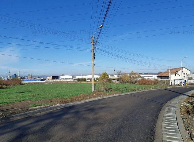 De vaznare teren cu destinatie industriala - 9000 mp - imaginea 1