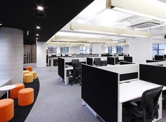 Imobilstar inchiriaza birouri moderne , 1500 mp - imaginea 1