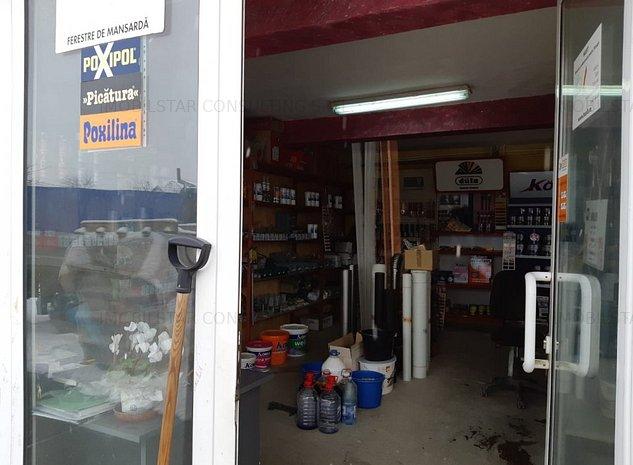 Imobilstar vinde/ inchiriaza magazin+ depozit in Ungheni - imaginea 1