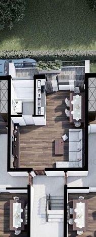 Garsoniere 45mp, La Cheie, Complex Rezidential Nou - imaginea 1