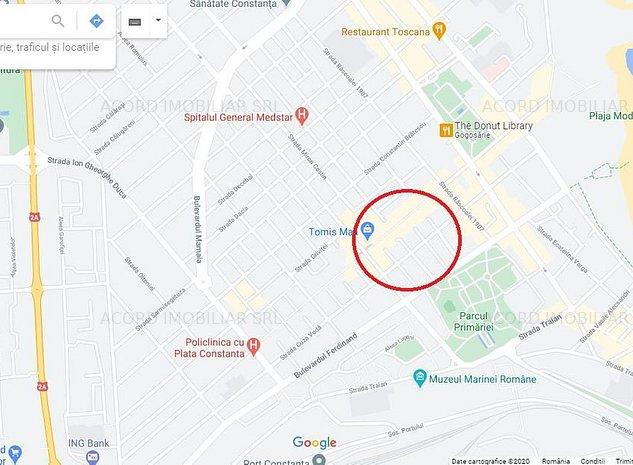 Teren 144m, Deschidere 12m, Zona Tomis Mall - Ultracentral - imaginea 1