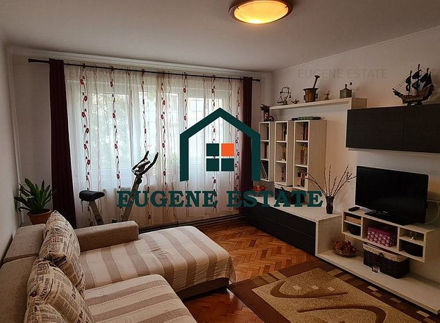 Apartament 3 camere, parter inalt, zona Dacia - imaginea 1