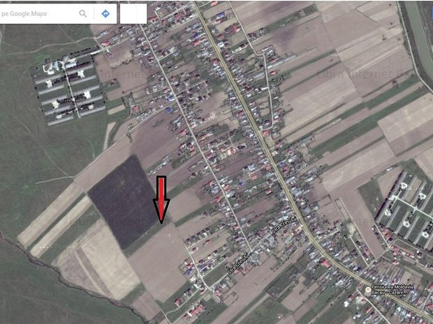 Teren Hemeius 555 mp, la 8 km de Bacau - imaginea 1