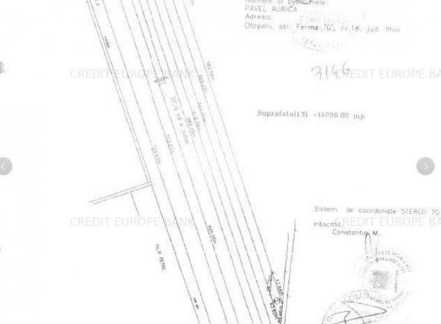 Terenul este situat in Otopeni, Tarla 1, Parcela A3, Lot 13, judetul Ilfov. - imaginea 1