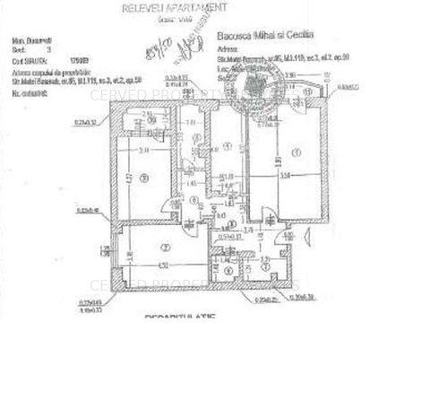 Apartament 3 camere, Matei Basarab 85 - imaginea 1