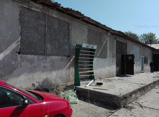 Teren 1117 mp si constructii industriale, Strada Sinaia, nr. 6-8, Targoviste - imaginea 1