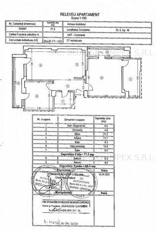 Apartament 3 camere zona Delfinariu - imaginea 1